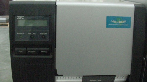 TOSHIBA TEC BAR CODE PRINTER B-472-QP