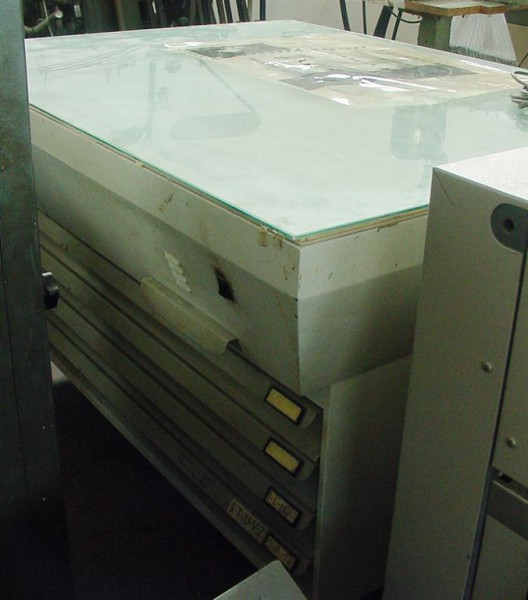 cassettiera con tavolo camera : ... buchbinderei - CT553833 TAVOLO LUMINOSO CON CASSETTIERA PORTA LASTRE