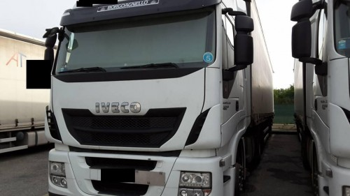 IVECO ECOSTRALIS HIGH WAY AS440S46/TP EURO 5 EEV+ INTARDER