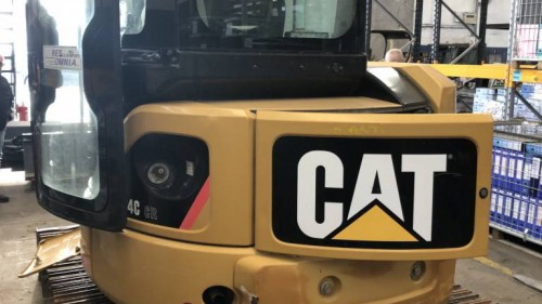 CATERPILLAR 304 C-CR + N.4 BENNE +LAMA